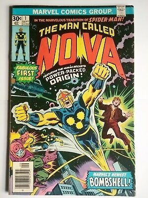 The man called Nova #1 first appearance