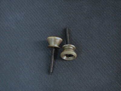 Brass Strap Buttons Set With Screws For Charvel Guitar Bass 80's