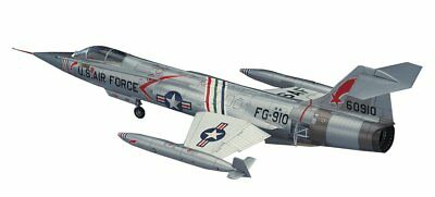 Hasegawa 1/48 the United States Air Force F-104C Starfighter plastic model