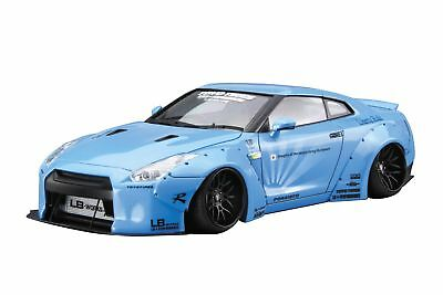 Aoshima 1/24 Liberty Walk Series No.9 LB-WORKS R35 GT-R Ver.1 Plastic Model Kit