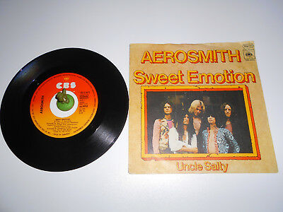 Aerosmith - Sweet Emotion (1975) Vinyl 7` inch Single Vg +