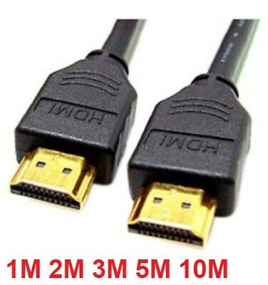Premium HDMI Cable v2.0 Gold High Speed HDTV Ultra HD HD 2160p 3D 1M -15METER