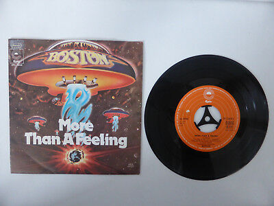 "Boston, More Than A Feeling, 7"" Single, GER 1976"