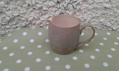 Denby PAMPAS  Greeny Grey and Brown Speckled Small milk cream jug
