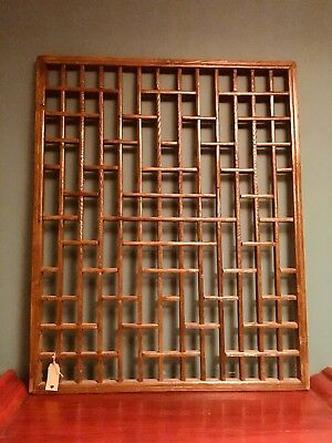 Chinese Fretwork Window Panel, Head Board, Wall Art