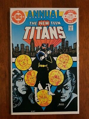 DC Comics The New Teen Titans Annual #2 Comic Book First Vigilante