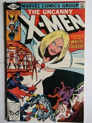 The uncanny x men #131 first appearance of Emma frost