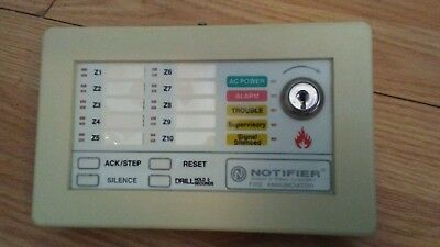 Notifier LED-10N Fire Alarm Annunciator