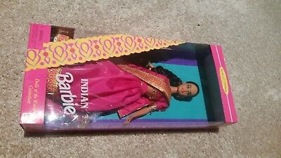 Indian Barbie Collector Edition New In Box Barbie Dolls Of The World Collection