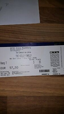 Ticket The Kelly Family 30.01.2018 Magdeburg