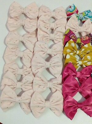 New Handmade Lot Of Bows