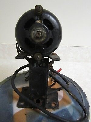Vintage General Electric GE Working A-C Motor And Base For Parts