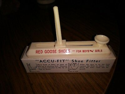 Red Goose Shoes Accu-Fit Shoe Fitter In Original Box