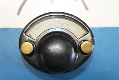Antique GE ThomsonAmmeter Pat. Date 1909 Steampunk #641547 TYPE O GENERAL ELEC.