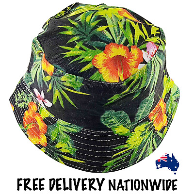 Bucket Hat - Jungle Canvas - Leafy Green - Free Delivery Nationwide.