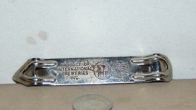 Vintage International Breweries Inc Frankenmuth Iroquois Bottle Opener