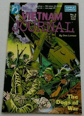 Vietnam Journal #2, The Dogs of War, by Don Lomax, POW-MIA, Apple Comics