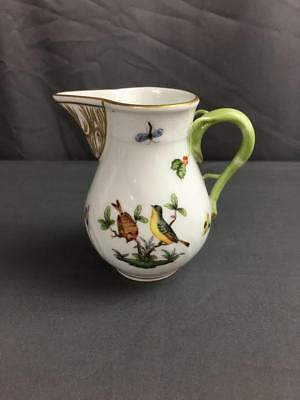 Herend Rothschild Tall Creamer Hand Painted Mint Condition