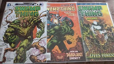 Swamp Thing #0 #3 Annual #3 Scott Snyder DC Comics The New 52 Horror Comic Books