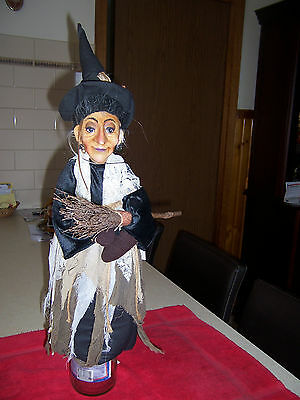 collectables 'Justine' (562054) Hoochie witch with a broom stick