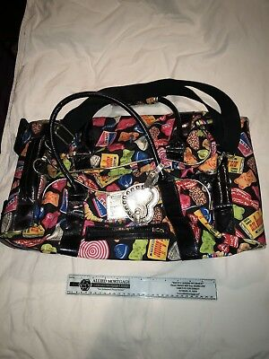 Betseyville Betsey Johnson Candy Roller Bag Preowned In Good Condition VHTF