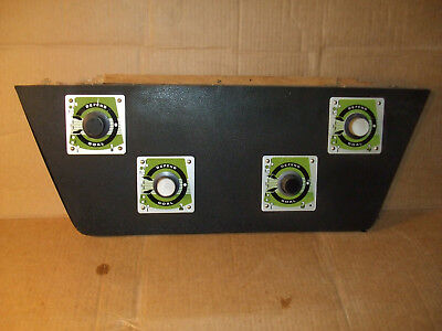 Super Rare Vintage Pong Soccer Hockey Video Arcade Game 4 Spinner Control Panel