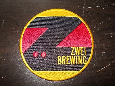 ~ ZWEI BREWING~ craft beer PATCH ~ Fort Collins Colorado brewery ~ German style