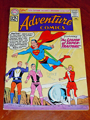 ADVENTURE COMICS #293 (1962) FINE- cond (5.5)  KEY:  SUPER PETS, GEN. ZOD app.