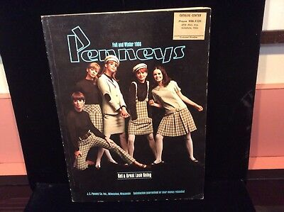 Vintage 1966 PENNEYS FALL WINTER CATALOGUE FASHION, SHOES, SPORTS, GUNS, ETC