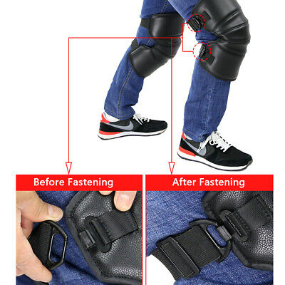 Motorcycle Knee Pads Warm Knee Armor Motorbike Brace Support Protection Gear