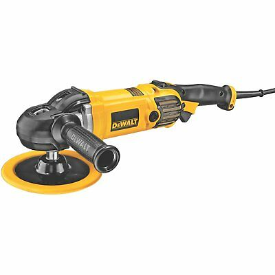 New DEWALT DWP849X 7-Inch / 9-Inch Electronic Variable Speed Polisher Soft Start