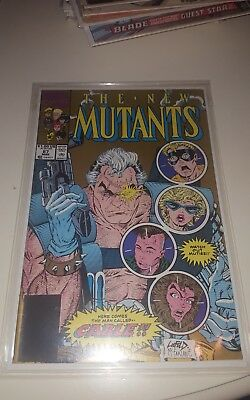 New Mutants 1990 #87 2nd Print Very Fine 1st Cable