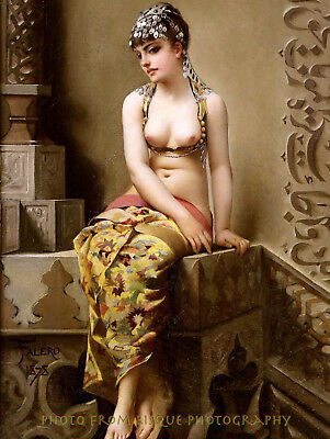"Nude Woman Enchantress 8.5x11"" Photo Print Luis Ricardo Falero Fine Orient Art"