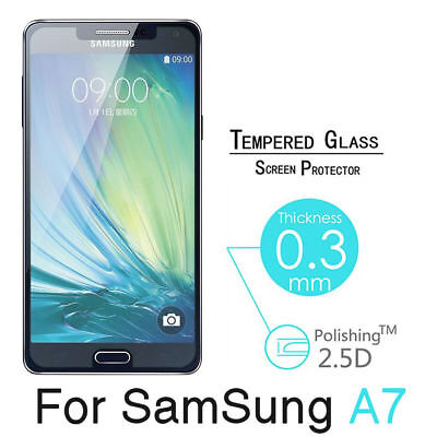 For Samsung Galaxy A3 A5 A7 (2017) Geniune Tempered Glass Film Screen Protector
