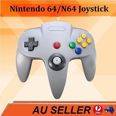 Grey Classic Game Controller Gamepad Joystick for Nintendo 64 N64 AU