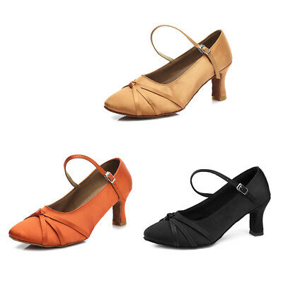 New Latin Dance Shoes For Women Adult Soft Tango Ladies Ballroom  Dance Shoes