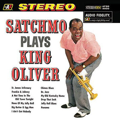 AP   Louis Armstrong - Satchmo Plays King Oliver 200g LP