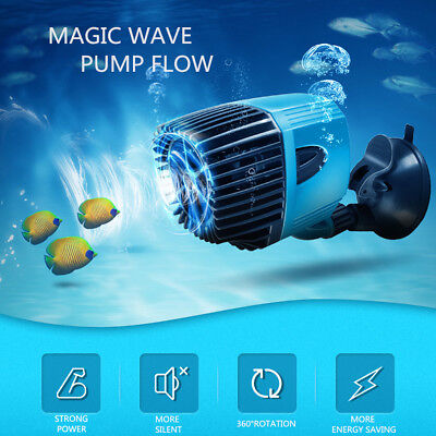 8000-13000 L/H 360° Vague Pompe Brassage Réglable Eau Aquarium Poisson 12/20W