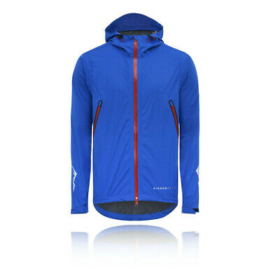 Higher State Mens Stretch Mountain Jacket Top Blue Sports Outdoors Running Full