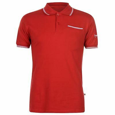 Mens Money Comp Polo Shirt Classic Fit Short Sleeve New
