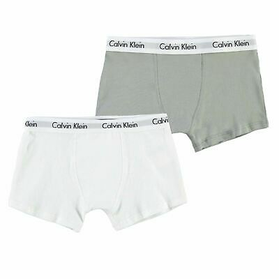 Calvin Klein 2 Pack Trunks Junior Boys Underwear Kids