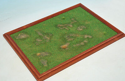 Pro built diorama base for 1/72, 1/48 or 1/35 models