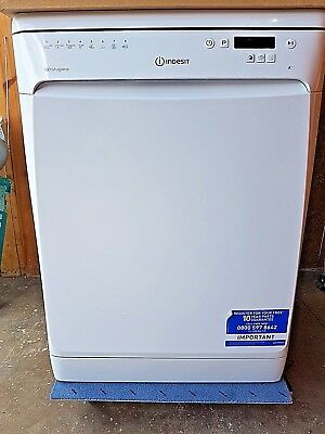 Indesit Dfp58T94Z Baby Care 14 Place Setting Freestanding White Dishwasher