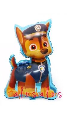 Paw Patrol Chase Air walker Foil Balloon Birthday Party Decoration Supplies AWK