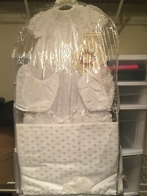 Baby Girl Christening Gown 5 Piece Set!
