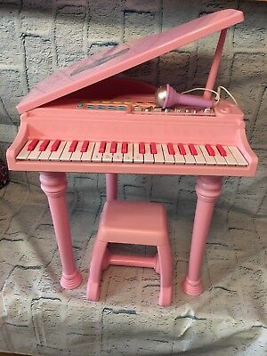 Childs Little Virtuoso Dance Hall Piano Pink