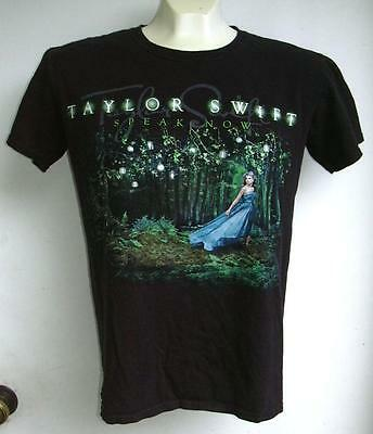 """Taylor Swift concert T-shirt """"Speak Now""""  size small"""