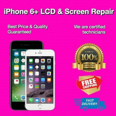 iPhone 6 Plus Cracked Screen Glass &LCD Digitizer Repair Replacement Service