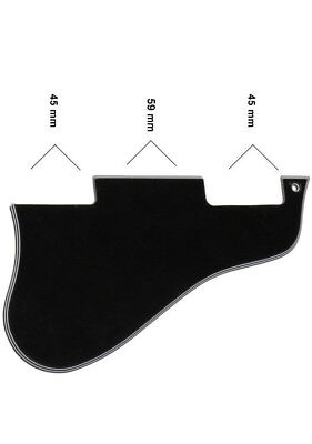 Short Black Pickguard for Gibson ES-335 Electric Guitars