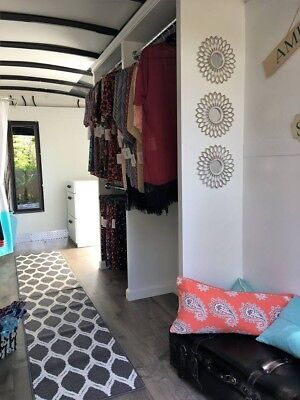 16 Ft. Enclosed Trailer - Mobile Fashion Boutique